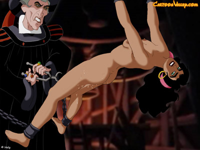 Frollo's wicked sex games with Esmeralda