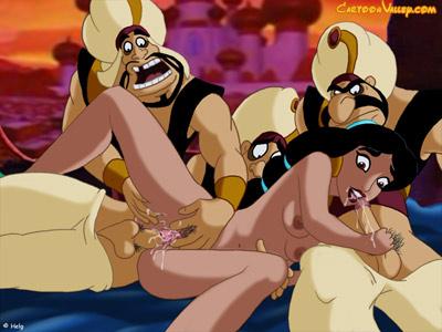 Jasmine's naughty haren sex orgy
