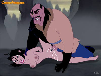 Mulan ass raped