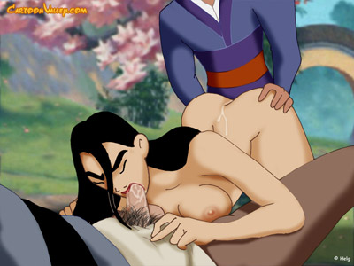Mulan as a lovely sexual slave in torment!