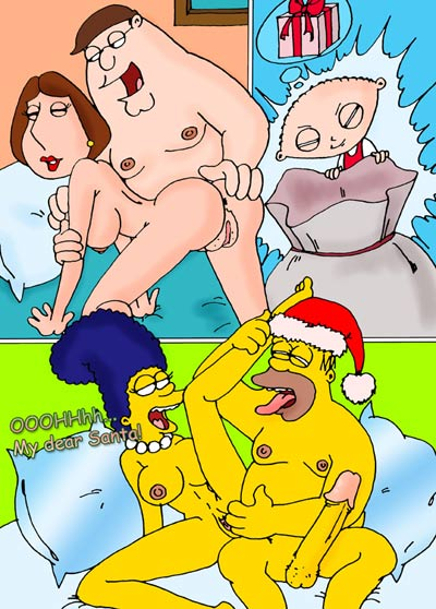 The Griffins and the Simpsons Cartoon Sex