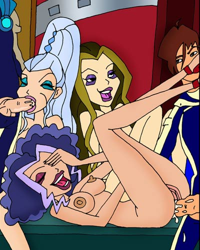 The Winx Witches fucking