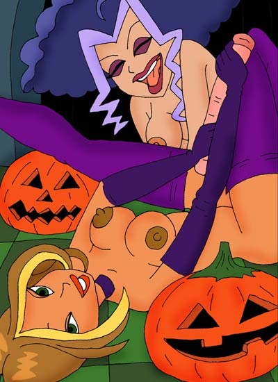 The girls of Winx enjoy asex orgy